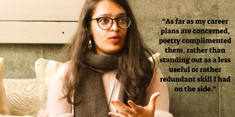 Diksha Bijlani: On what powers slam poetry - Purple Pencil Project