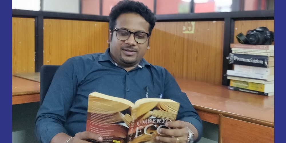 Indian Poet Manu S Kurup