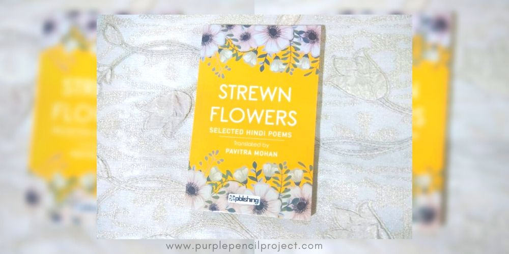 cover of book strewn flowers