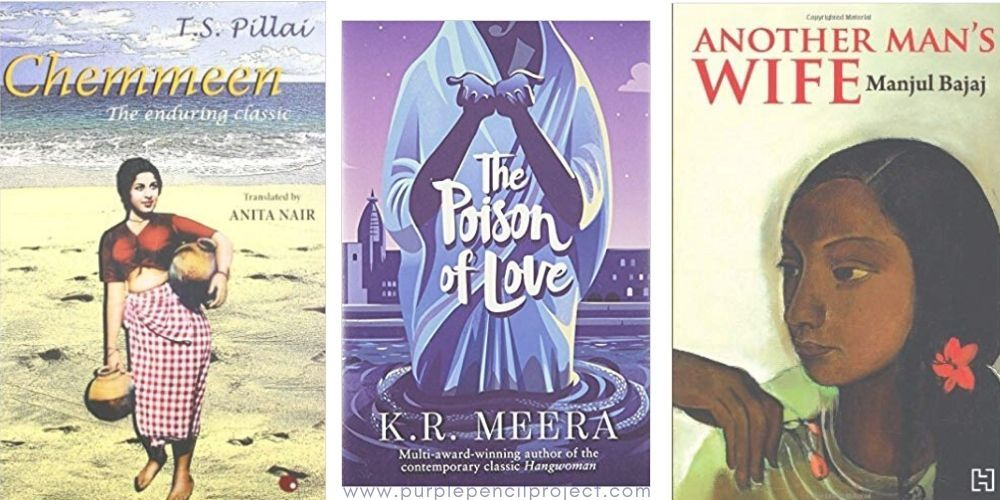 Book covers of three books