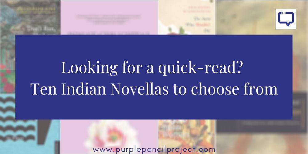 list of indian novellas