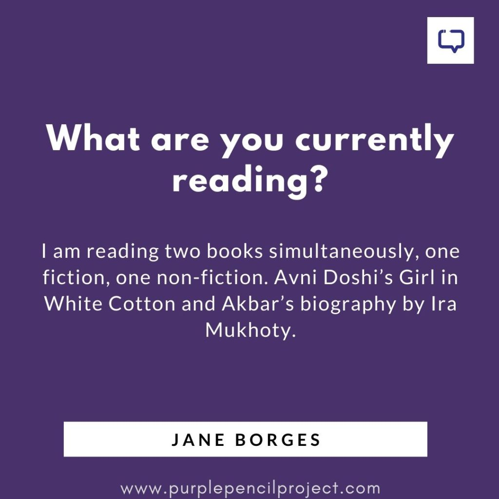 jane borges currently reading
