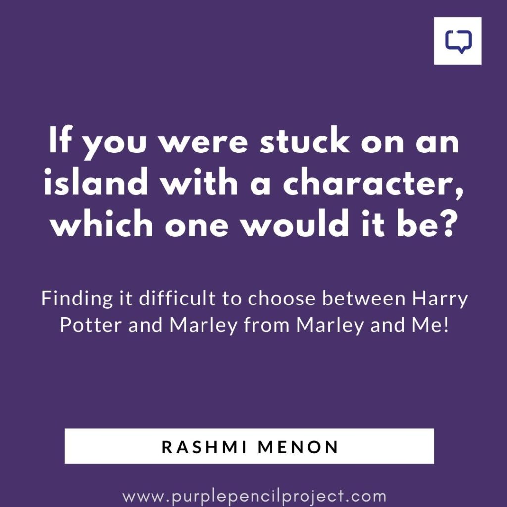 rashmi menon rapid fire question