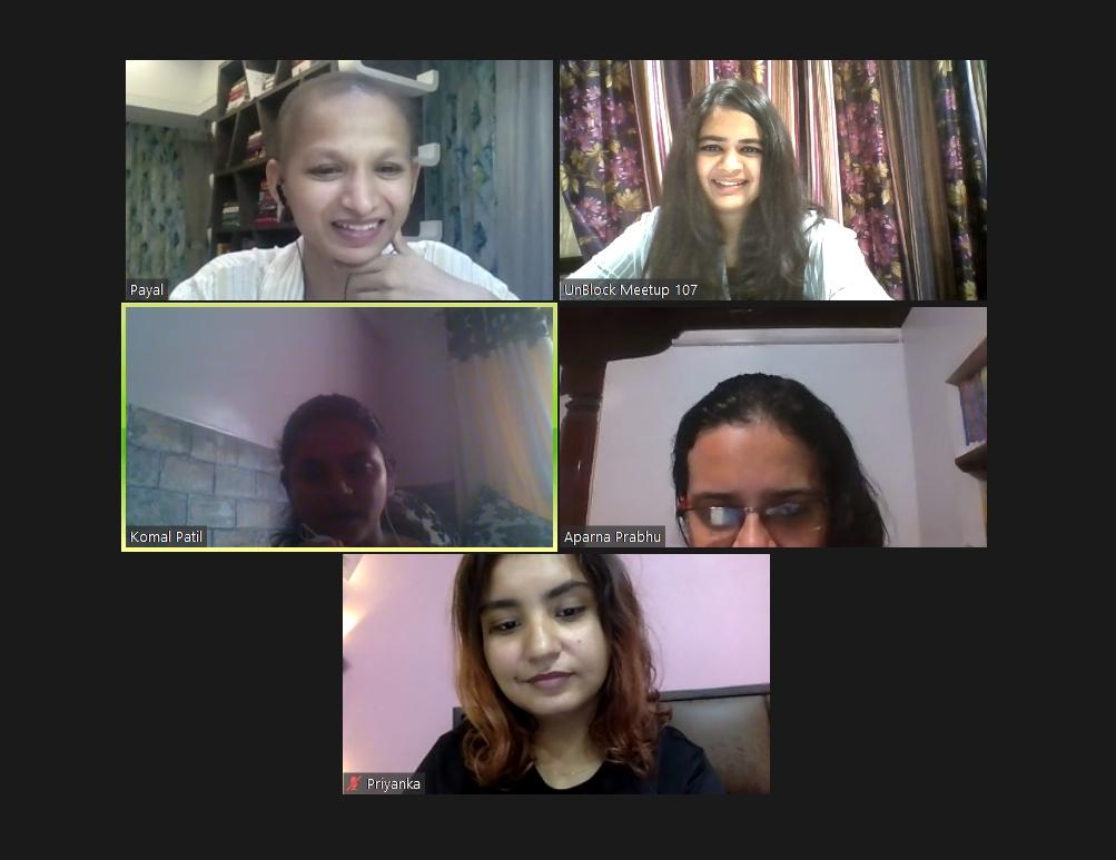 virtual writing meetup on Zoom