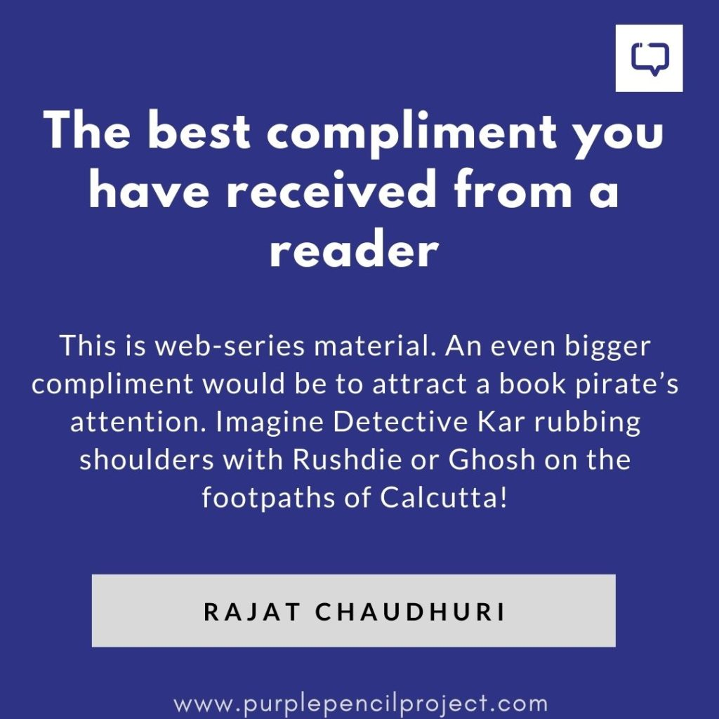 best compliment rajat has received from a reader
