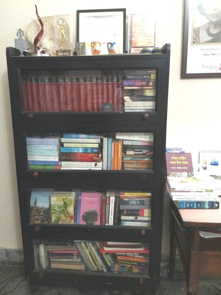 Ranjita Biswas bookshelf