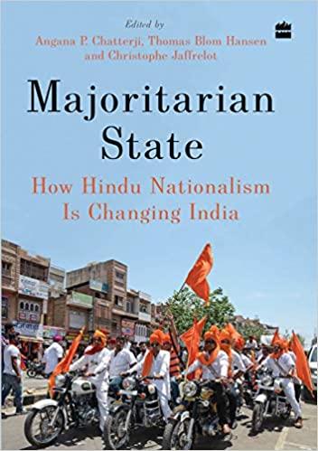 book cover of majoritarian state