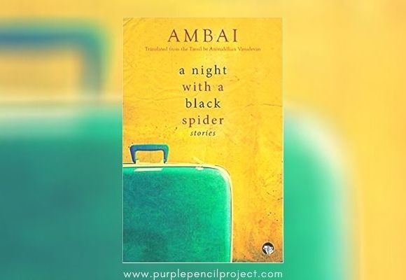 book review: a night with a black spider by ambai