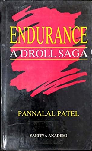 book cover endurance a droll saga