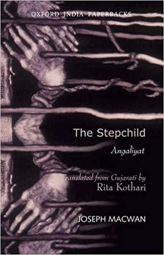 Book cover of The stepchild translated from Gujarati by Rita Kothari